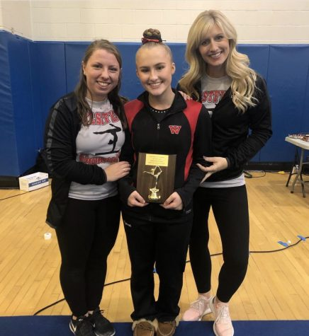 WHS Gymnasts Earn Awards